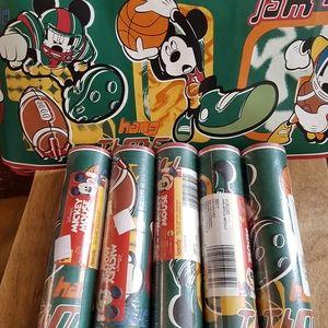 5 rolls MICKEY MOUSE wallpaper border